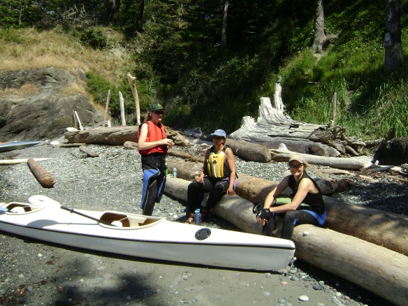 Rivers, oceans, we're not picky--just give us paddles. And picnic lunch.