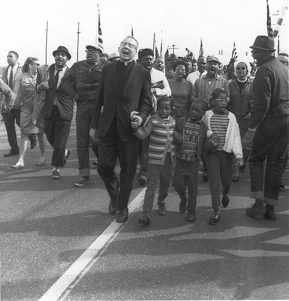 The Selma March (Courtesy Wikimedia)