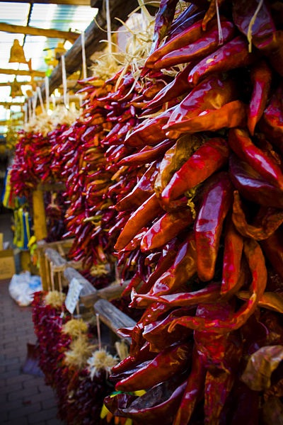 Ristras for sake (courtesy wikimedia)