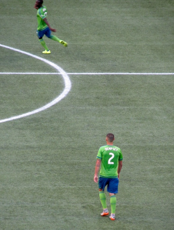 Ironically, none of Seattle's three goals were scored by this man.