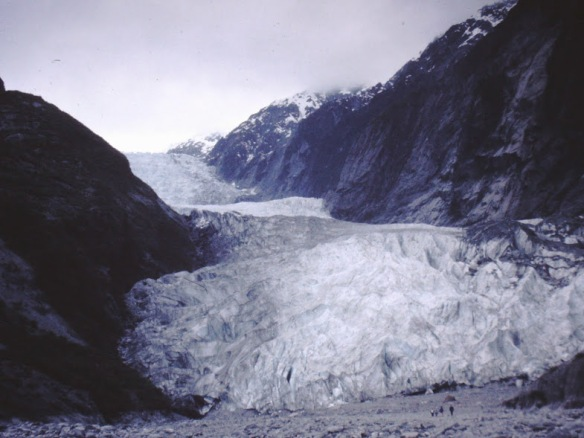 One of the western glaciers--Fox or Franz-Joseph, don't remember