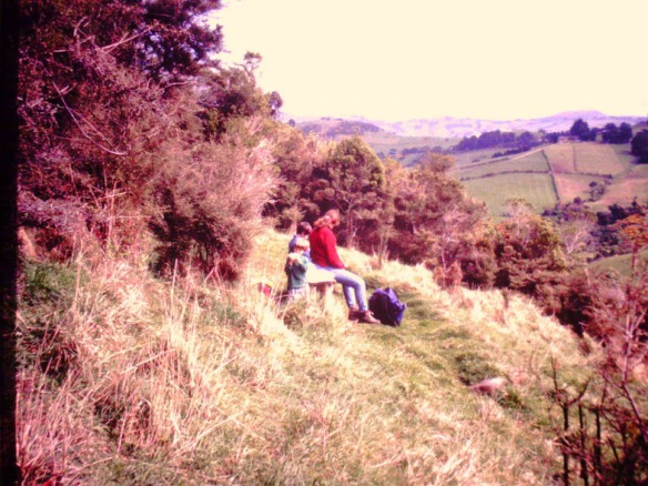 We tramped up mountains--little ones like Mt. Cargill, Dunedin's high point
