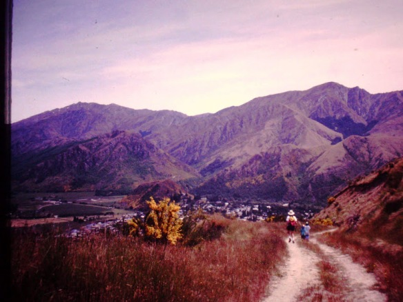 We tramped down south in the Gold Country (near Queenstown)...