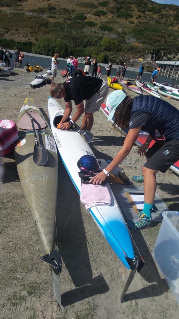 Kayak gear prep