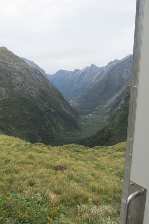 Looking back at the Clinton Valley: World's Best Latrine View?